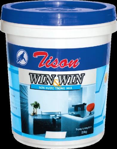 Sơn trang trí Tison cap cấp đến từ thương hiệu Tison