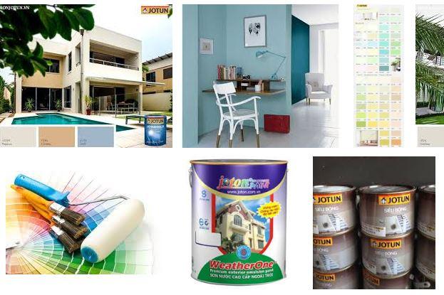 Shop cung cấp sơn nội thất hãng odessa uy tín sát bên đường Đông Hưng Thuận quận 8